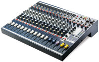 Soundcraft EFX12 - микшер 12 моно, 2 стерео, 2 Aux. процессор эффектов Lexicon. 32 пресета,