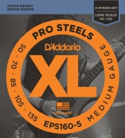 D'Addario EPS160-5 - струны для 5 стр.БАС-гит, ProSteels/Long, 50-135