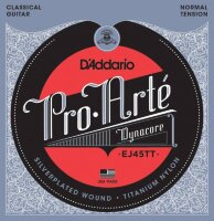 D'ADDARIO EJ45TT стр. для кл. гит., Dynacore,Silver, Normal Tension