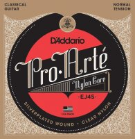 D'ADDARIO EJ45 стр. для кл. гит., Silver, Normal Tension