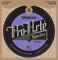 D'ADDARIO EJ44 стр. для кл. гит., Silver, X-Hard Tension